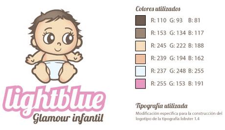 especificaciones logo rosa Diseño de logotipos