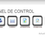 Panel mantenimiento web