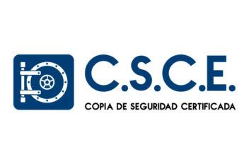 Logo copia de seguridad certificada