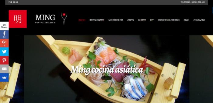 Diseño de páginas web para restaurantes asiaticos Diseño de páginas web para restaurantes asiaticos