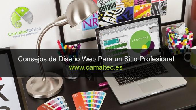 consejos diseno web profesional Solo 3 consejos para diseñar con éxito la página web de tu empresa