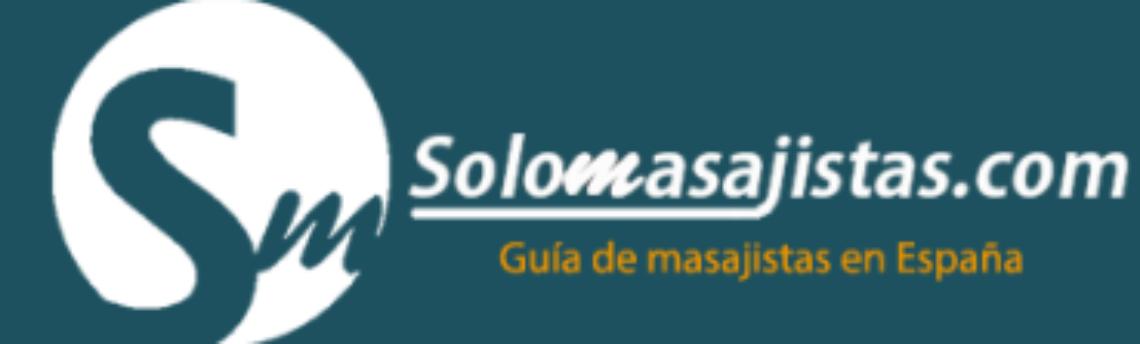Nuevo logotipo para el portal solomasajistas.com