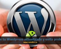 Mantén tu Wordpress actualizado y evita problemas