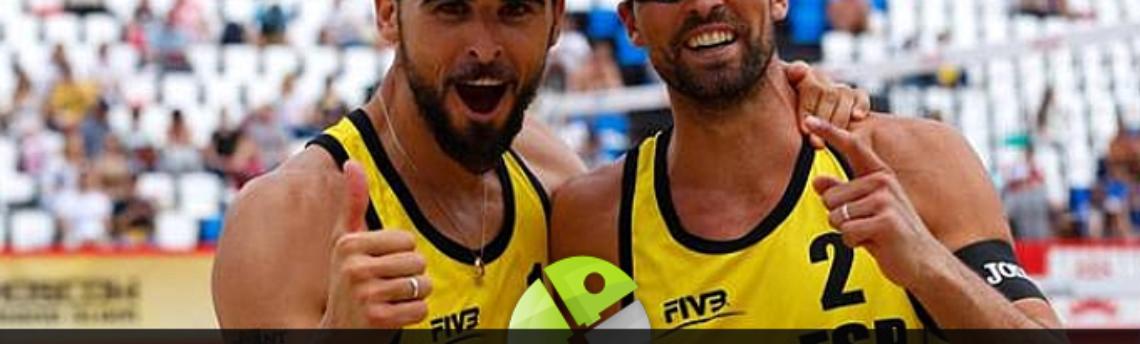 Camaltec a los Juegos de Río con el vóley playa y la pareja Herrera/Gavira
