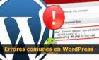 Errores comunes en WordPress