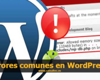 errores comunes wordpress 200x160 c Mantenimiento Web