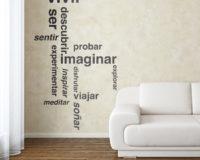 Diseño de vinilos personalizados para pared