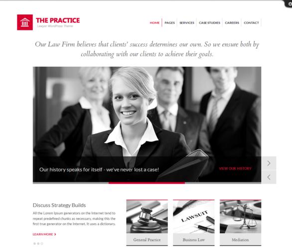 diseño web para abogados Gestores de contenidos gratuitos para crear páginas web