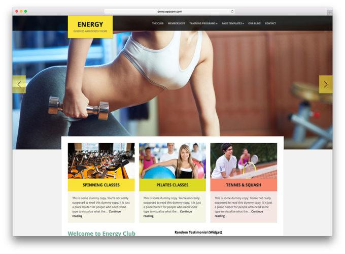 diseño web para gimnasios Diseño web para gimnasios
