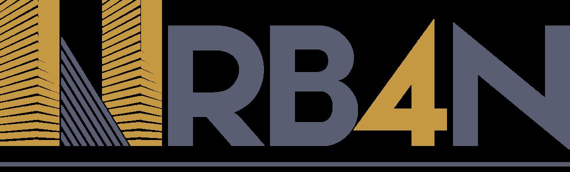 Presentación logo Urb4n para inmobiliaria