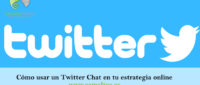 Cómo usar un Twitter Chat en tu estrategia online 200x85 c Franquicia diseño web