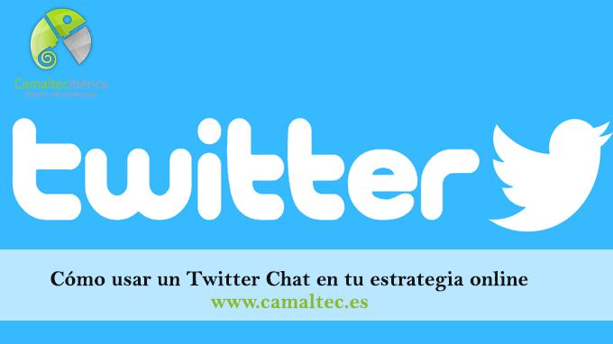 Cómo usar un Twitter Chat en tu estrategia online Utiliza Twitter Chat en tu estrategia de venta o promoción online