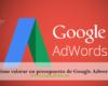 Cómo valorar un presupuesto de Google Adwords 100x80 c Posicionamiento SEM