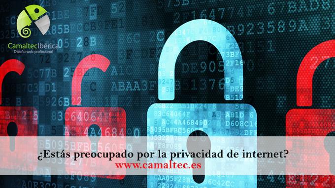 Estás preocupado por la privacidad de internet Politica de privacidad para web