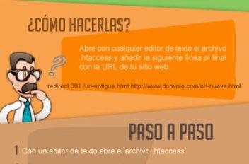 Infografia - Redirecciones 301
