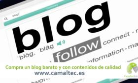 Compra un blog barato y con contenidos de calidad