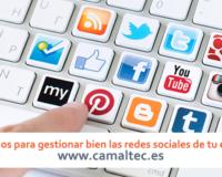 Consejos para gestionar bien las redes sociales de tu empresa 200x160 c Gestión de redes sociales