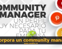 Incorpora un community manager a tu empresa y hazla crecer