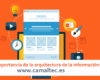 La importancia de la arquitectura de la información 100x80 c Redacción de contenidos