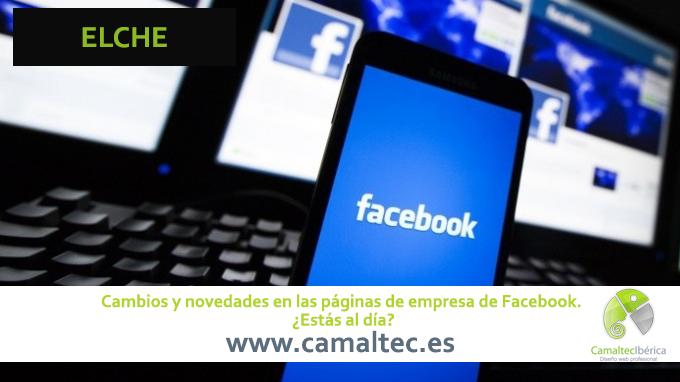 Cambios y novedades en las páginas de empresa de Facebook Crear concurso en Facebook