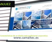 Características de un diseño web profesional corporativo 200x160 c Diseño y desarrollo web en Aranjuez