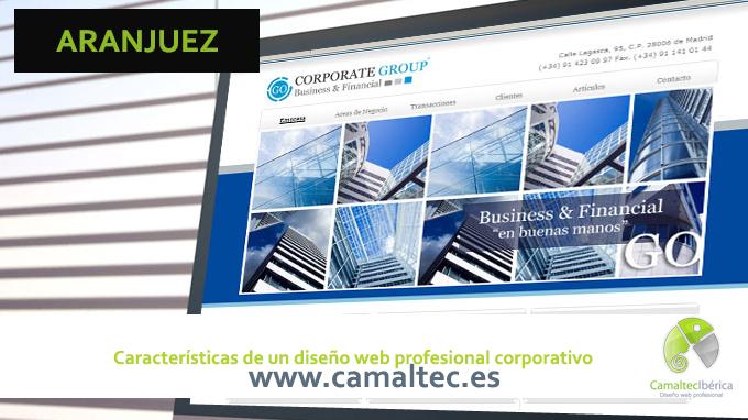 Características de un diseño web profesional corporativo Una página web profesional para que tu negocio triunfe en internet