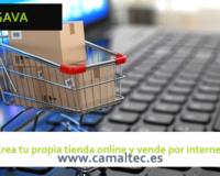 Crea tu propia tienda online y vende por internet 200x160 c Diseño y desarrollo web en Gava