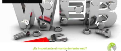 Es importante el mantenimiento web 400x170 c Franquicia diseño web
