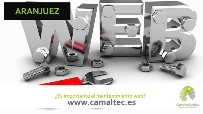 Es importante el mantenimiento web Diseño y desarrollo web en Casteldefels