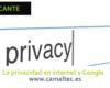 La privacidad en internet y Google 100x80 c Diseño web en Alicante y desarrollo web en Alicante