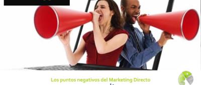 Los puntos negativos del Marketing Directo 400x170 c Franquicia diseño web
