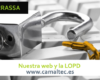 Nuestra web y la LOPD 100x80 c Diseño y Desarrollo web en Terrassa