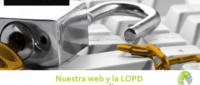 Nuestra web y la LOPD 200x85 c Franquicia diseño web