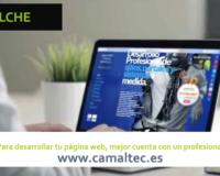 Para desarrollar tu página web mejor cuenta con un profesional 200x160 c Diseño y desarrollo web en Elche
