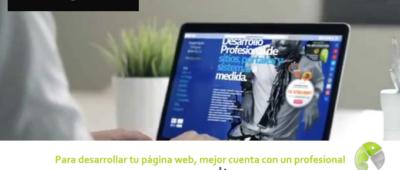 Para desarrollar tu página web mejor cuenta con un profesional 400x170 c Franquicia diseño web