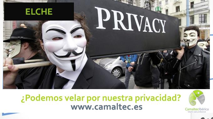 Podemos velar por nuestra privacidad Politica de privacidad para web