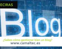 Sabes cómo gestionar bien un blog 200x160 c Diseño y desarrollo web en Algeciras