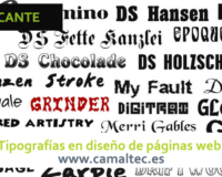 Tipografías en diseño de páginas web 200x160 c Diseño web en Alicante y desarrollo web en Alicante