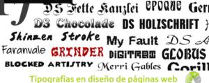 Tipografías en diseño de páginas web 300x120 c Informática Alicante