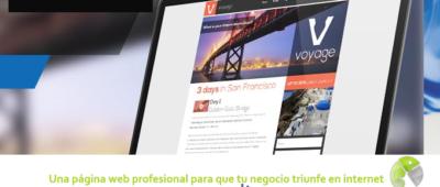 Una página web profesional para que tu negocio triunfe en internet 400x170 c Franquicia diseño web