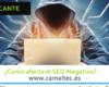como afecta el seo negativo 100x80 c Diseño web en Alicante y desarrollo web en Alicante