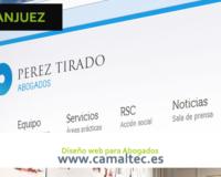 diseño web para abogados en aranjuez 200x160 c Diseño y desarrollo web en Aranjuez
