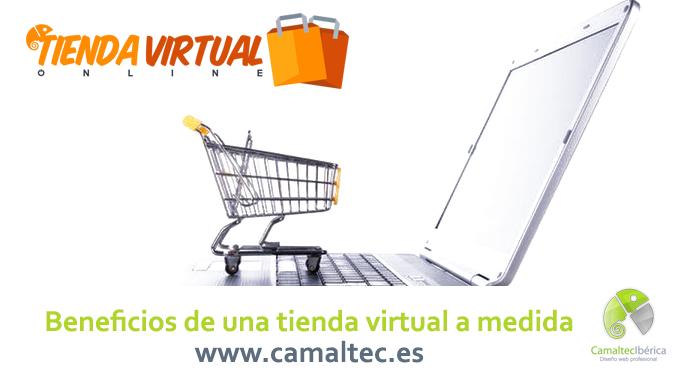 Beneficios de una tienda virtual a medida Claves para vender más en la tienda virtual