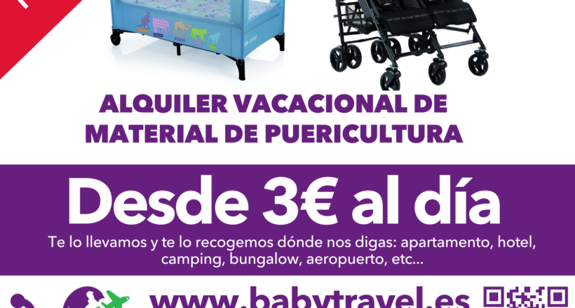Folleto publicitario BabyTravel