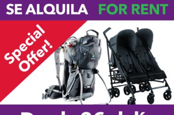 Folleto publicitario tipo Flyer para BabyTravel.es
