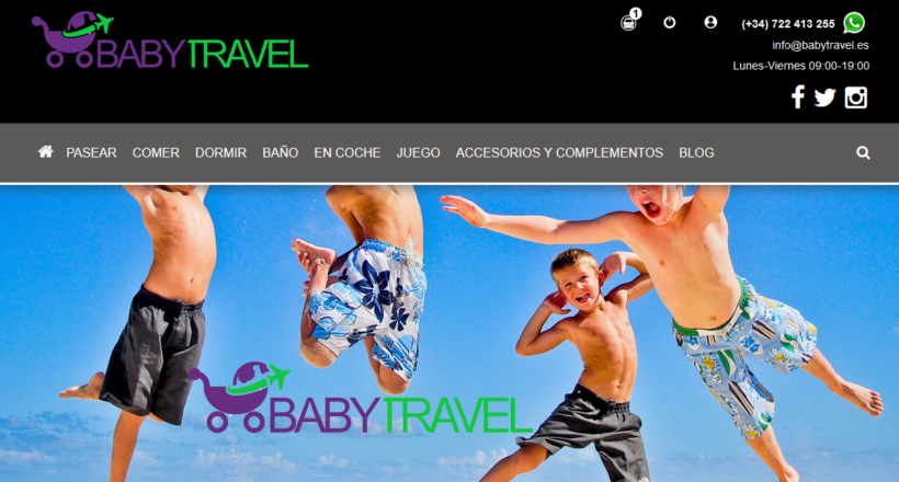 Tienda Virtual Babytravel.es