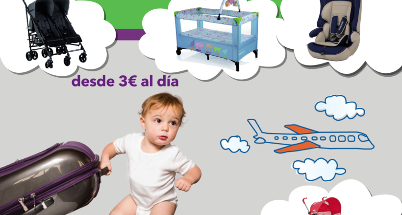 Folleto para expositor de babytravel.es
