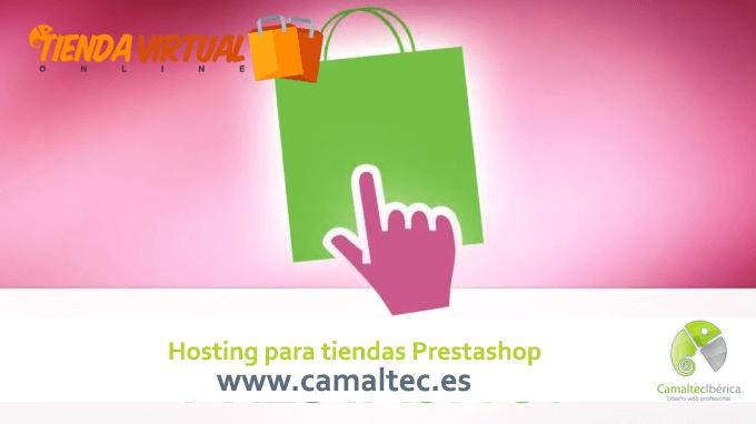 hosting para tiendas prestashop DropShipping con Prestashop