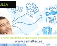 4 Puntos importantes para potenciar su empresa en Internet 200x160 c Diseño y desarrollo web en Melilla