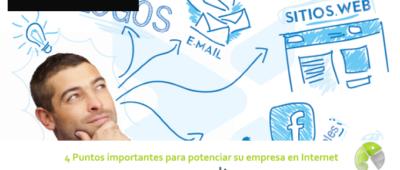 4 Puntos importantes para potenciar su empresa en Internet 400x170 c Franquicia diseño web